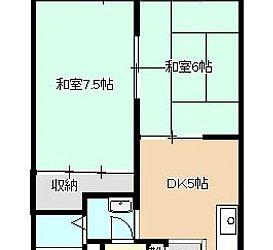 南恵我ノ荘8丁目アパート間取り