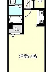 藤井寺3丁目アパート(2F)間取り