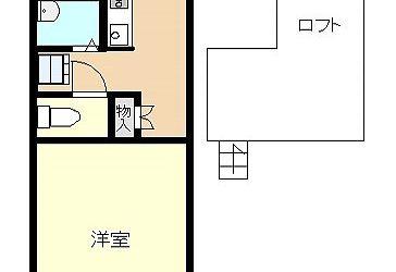 島泉3丁目アパート間取り