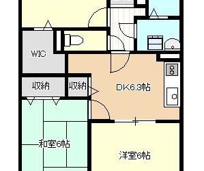 沢田2丁目マンション間取り