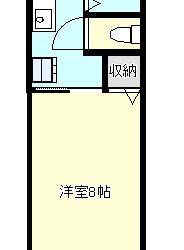 伊賀1丁目アパート(2階)間取り