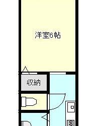 誉田6丁目アパート間取り