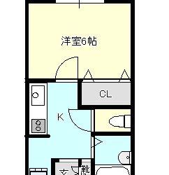東藤井寺町アパート間取り