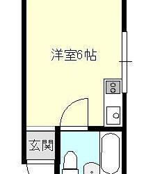 東阪田マンション間取り