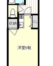 藤井寺2丁目マンション(2階)間取り