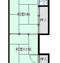 上田7丁目アパート間取り