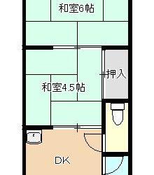 藤井寺4丁目アパート間取り