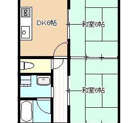 藤井寺市岡1丁目マンション(3F)間取り
