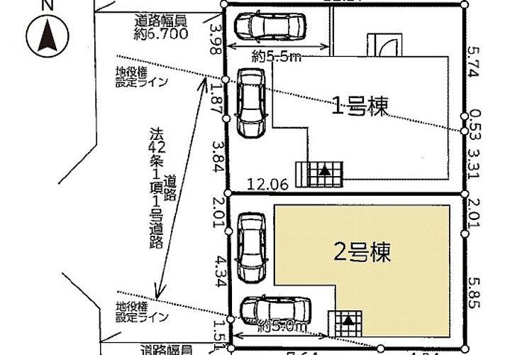 高鷲6丁目新築戸建(2号地)画像3
