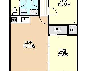 藤ヶ丘3丁目マンション(4階)間取り