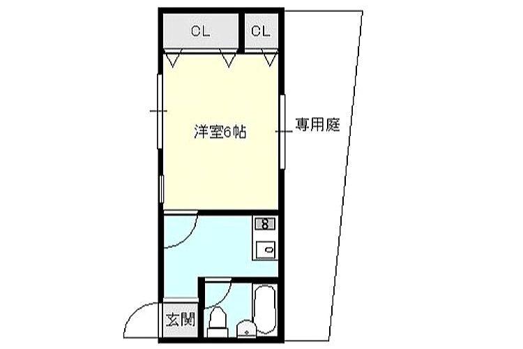 沢田1丁目マンション(1階)画像1
