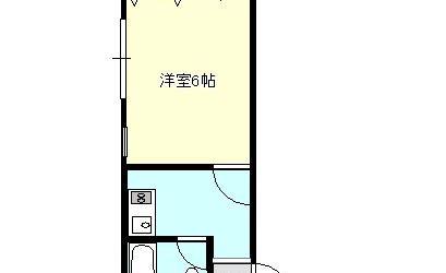 沢田1丁目マンション(2階)間取り