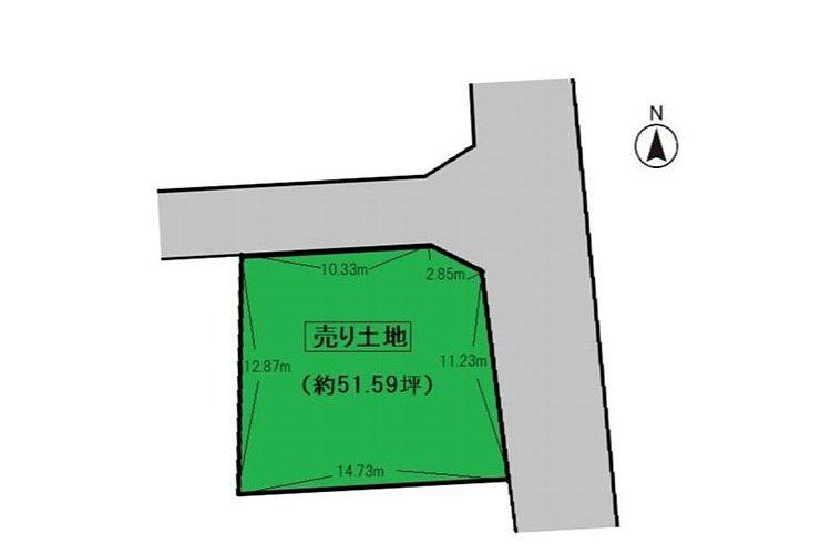 伊賀1丁目売り土地画像2