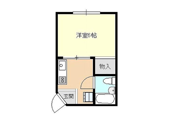 上田7丁目マンション(1K)画像2