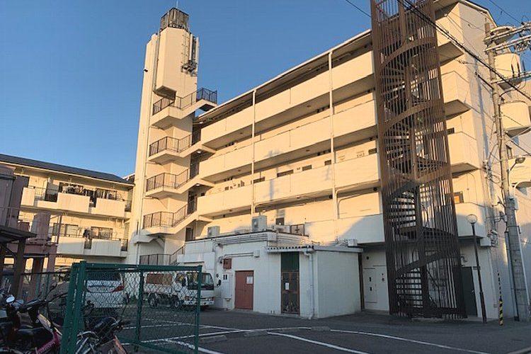 恵我之荘4丁目マンション1号棟1階(2DK)画像1