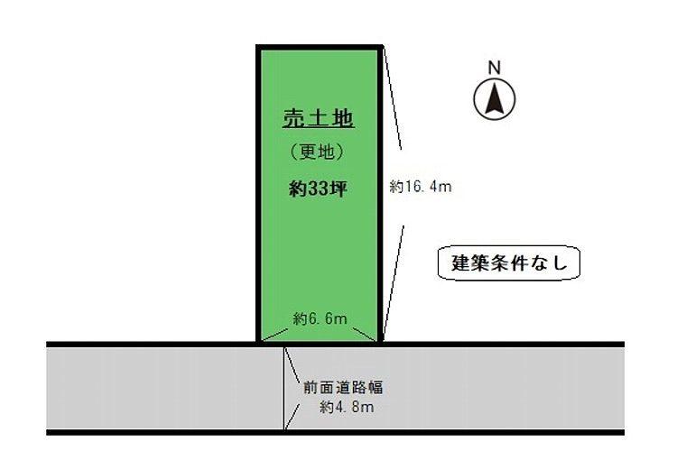 小川1丁目売り土地(A号地)画像1