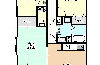 誉田2丁目マンション(4LDK)間取り