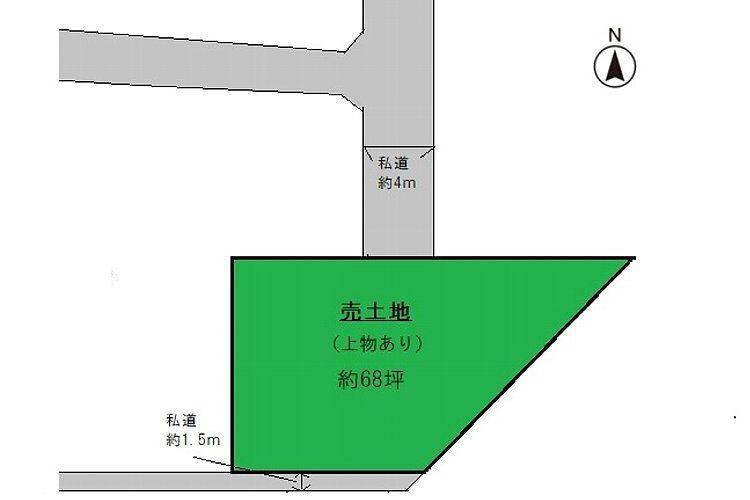 誉田2丁目売り土地画像1