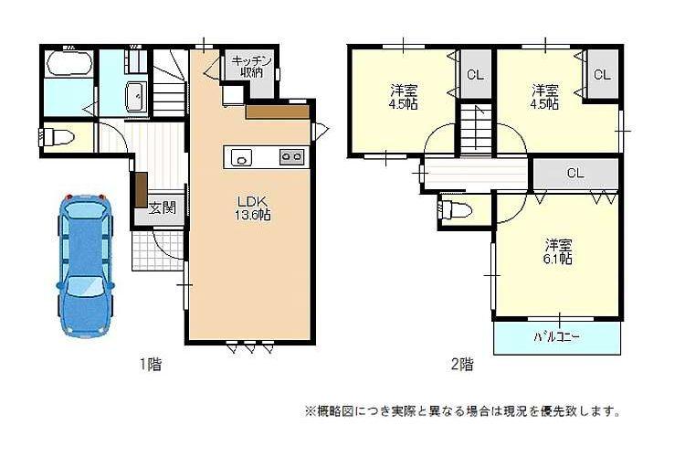 恵我之荘6丁目新築一戸建(3LDK)画像2