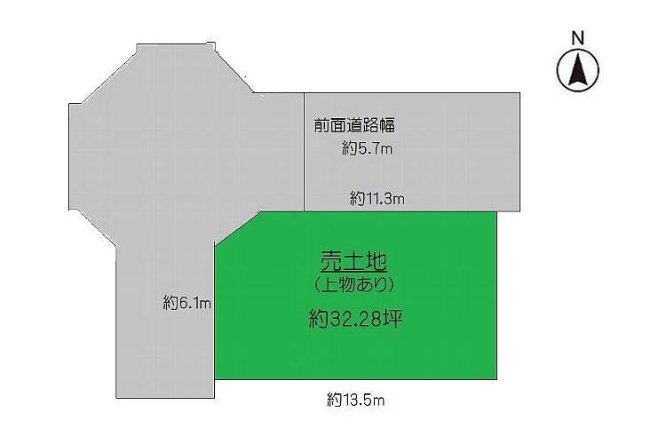 島泉7丁目売土地画像1