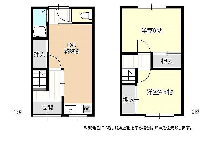 大堀5丁目貸テラスハウス画像3